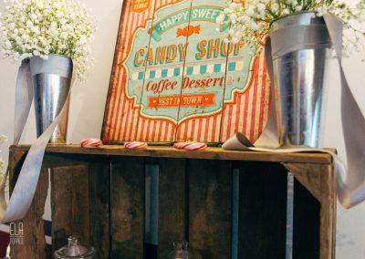 candy bar de mariage