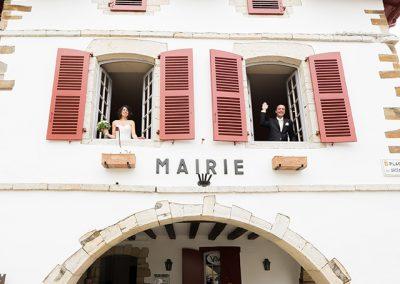 mariage dans un village classé plus beau village de France