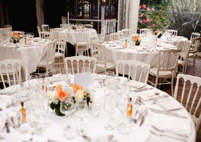 salle de mariage avec terrasse couverte au pays basque